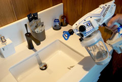 接触の多い場所の除菌・消臭