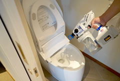 トイレ清掃時の除菌・消臭